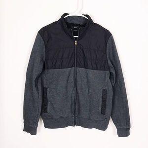 Hugo Boss Zip-Through Sweatshirt Colorblock Jacket